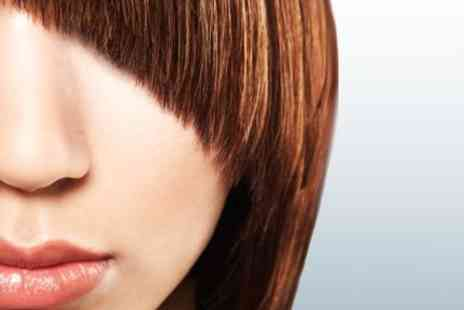 Michael Barnes - Cut & Finish with Top Hairdresser Michael Barnes with Wine & Product to take home - Save 550%
