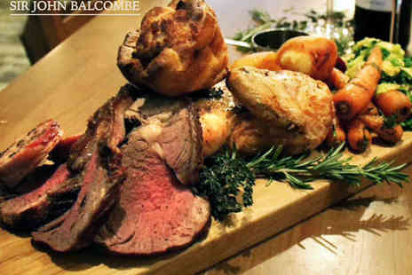 The Sir John Balcombe - Sunday Roast Platter to Share Between Two - Save 0%