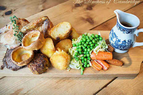 The Duchess of Cambridge - Sunday Roast Platter for Two - Save 0%