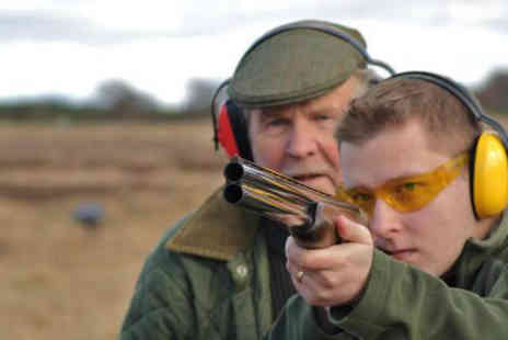 Central Scotland Shooting School - Clay pigeon shooting - Save 60%