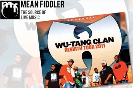 Mean Fiddler - Ticket to Wu Tang Clan on 15 June at Manchester Academy  - Save 51%