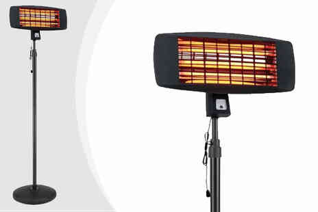 RS Communications - La Hacienda 2000W Electric Patio Heater - Save 35%