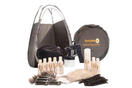 Siennasol - Rapidtan HVLP Airbrush Spray Tanning Kit - Save 58%