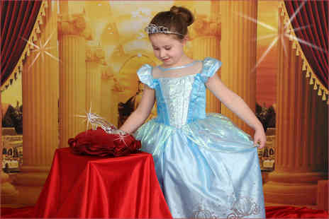 Picture Perfect by Mario - Cinderella or enchanted princess themed photoshoot for up to 2 children  - Save 92%