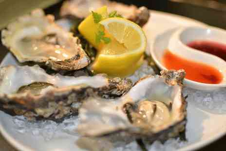 Chamberlains - Six oysters to share and 2 glasses of Prosecco  - Save 54%