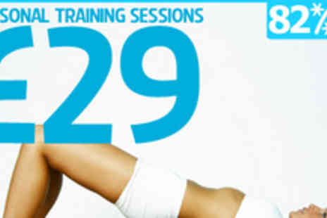GH Fitness - Shape up for less with four personal training sessions - Save 82%