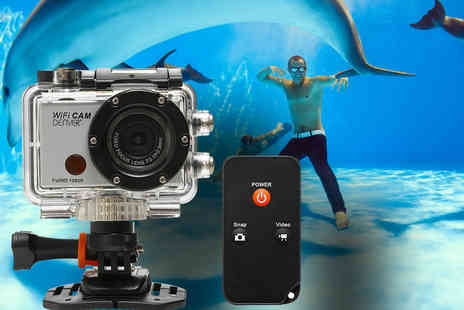 3 Wise Monkeys -  Denver AC 5000W full 1080P HD waterproof action camera - Save 24%