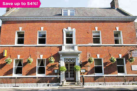 The Eastbury Hotel - One night stay for two with breakfast in Glittering Dorset - Save 54%