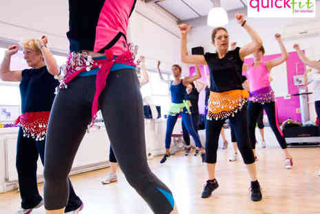QuickFit for Women - One Months Unlimited Fitness Classes - Save 53%