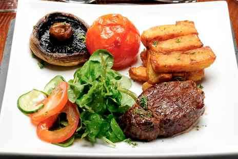 The Blue Steak - Two Course Steak and Lobster Meal For Two - Save 56%