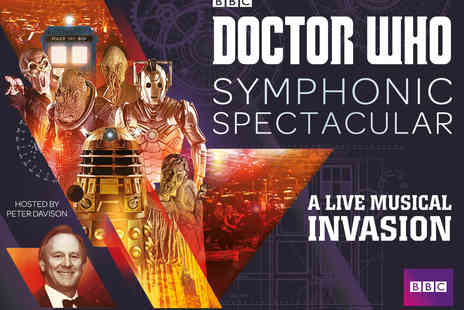 Vision Nine Arts - Two Tickets to Doctor Who Symphonic Spectacular - Save 12%