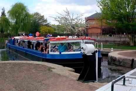 Lee and Stort Boats - Adult Ticket to Boat Cruise with Refreshments - Save 19%