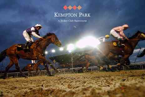 Kempton Park Racecourse - Entry to Kempton Park Racecourse For One With Pizza and Drink  - Save 37%