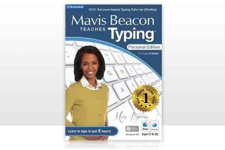 Avanquest - Mavis Beacon Teaches Typing Personal Edition Software for PC or Mac - Save 51%
