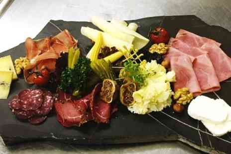 Bakerstreet - Sharing Platter and Wine For Two - Save 50%