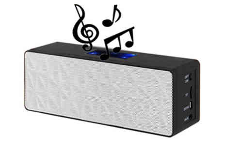 Eurosfield - Bluetooth Stereo Speaker with Touch Control - Save 50%