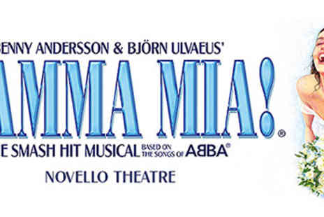 Omega Holidays - Mamma Mia ticket & London Hotel - Save 65%