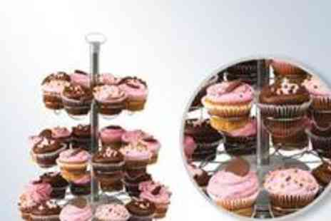 Premium Cookware - Sensio Home Rotating Cupcake Stand - Save 62%