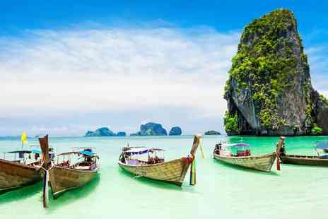Thailand Round Trip - Thirteen night Bangkok, Krabi & Phi Phi with flights, breakfast, trips and more - Save 0%