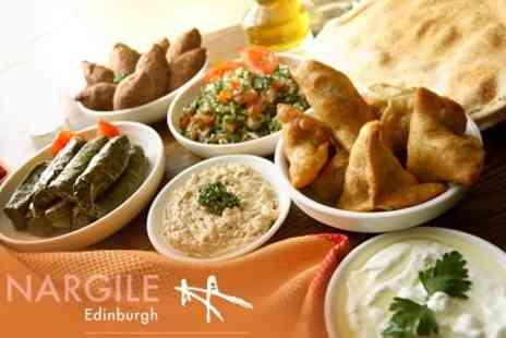 Nargile Edinburgh - Turkish Meze and Baklava For Two for £12.80  - Save 60%