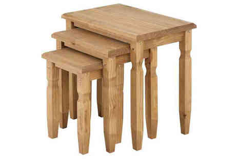 ETrading1 Direct - Sienna Cotswold Nest of Tables - Save 55%