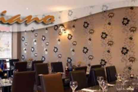 Cafe Piano - Two Courses of Italian Cuisine For Two With Olives  - Save 64%