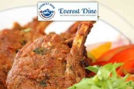 Everest Dine - Two Courses of Nepalese Cuisine For Four With Glass of Wine - Save 62%