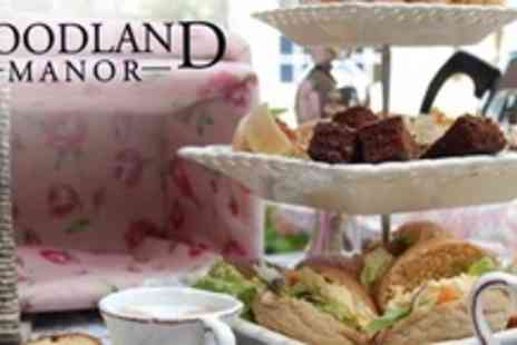 The Woodlands Hotel - Afternoon Tea For Two With Sandwiches, Homemade Scones and Cakes - Save 60%