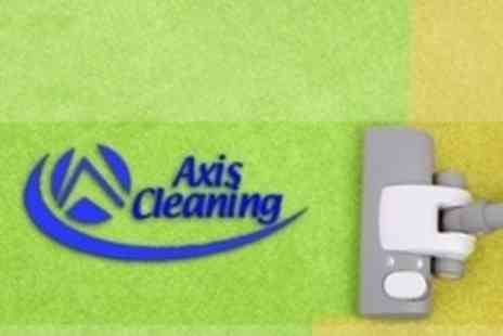 Axis Cleaning - Carpet Steam Clean and Shampoo in Two Rooms - Save 69%