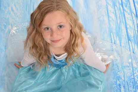 Chris Mullane Photography - One hour Frozen or Cinderella themed photoshoot for up to 3 children including 4 prints  - Save 89%