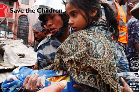 Save the Children - Donate to the Nepal Earthquake Appeal with Save the Children - Save 0%
