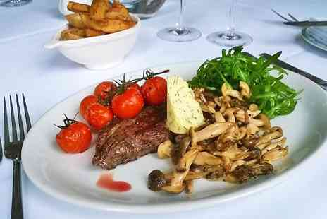 Farthings Country Hotel - Steak Dinner With Wine For Two - Save 60%