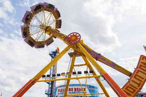 Great Yarmouth Pleasure Beach - All Day Access to Pleasure Beach Rides - Save 36%
