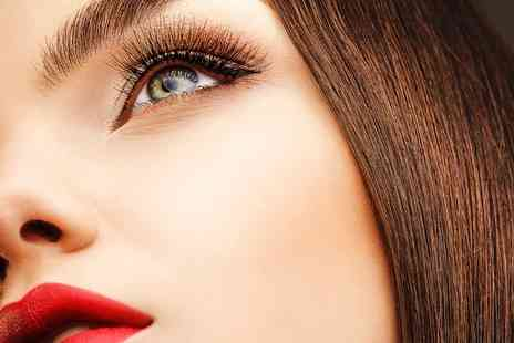 Saints Hairdressing - Eyelash Extensions With Brow Tint - Save 62%
