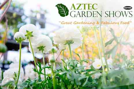 Aztec Events - Entry to Lincoln Garden Show  For Two - Save 54%