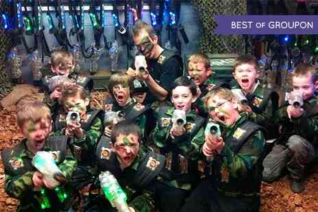 Laser Kombat - Two Laser Tag Games For One  - Save 50%