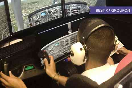 Fly By Light - 60 Minute Flight Simulator Experience - Save 51%