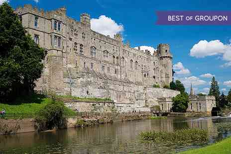 Premium Tours - Warwick Castle, Stratford and Oxford Tour - Save 50%