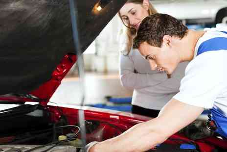 Cromptons Automotive - Car Service With Diagnostic Check Plus MOT Test - Save 72%