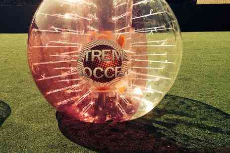 Xtreme Soccer - Zorb Football Game For One  - Save 0%