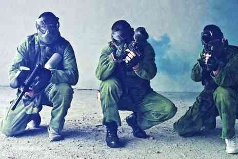 Asylum Paintball - Indoor Paintballing For Six - Save 0%