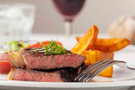 Londonderry Arms Restaurant - Steak and Wine For Two - Save 0%