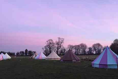 Botany Camping - Bell Tent Stay For Up to Five With BBQ Pack and Firewood - Save 40%