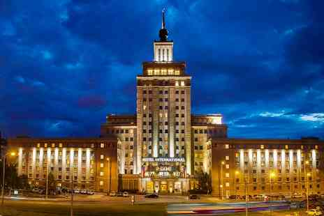 Hotel International Prague - One or Three Nights stay For Two With Full Buffet Breakfast  - Save 0%