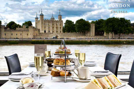 Bateaux London Cruises - Afternoon Tea and River Cruise for Two - Save 0%