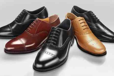 SW Shoes - Samuel Windsor Mens Handmade Leather Shoes One Pair - Save 70%