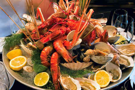 Locanda 311 - Whole Lobster and Seafood Platter for Two with a Glass of Sweet Wine Each - Save 51%