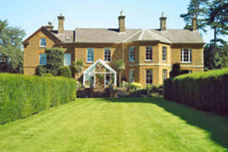 Sedgebrook Hall Hotel - Overnight Northamptonshire Dining Break in a Gorgeous Countryside Hotel - Save 9%