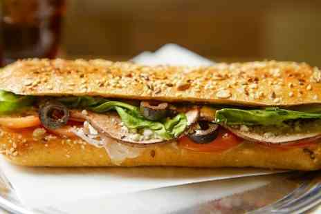 Subway - Any Footlong Sub and Drink or Two Subs, Crisps and Drinks - Save 46%