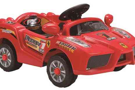 TTurborevs - 6v Ferrari Ride On with Parental Remote Control - Save 40%